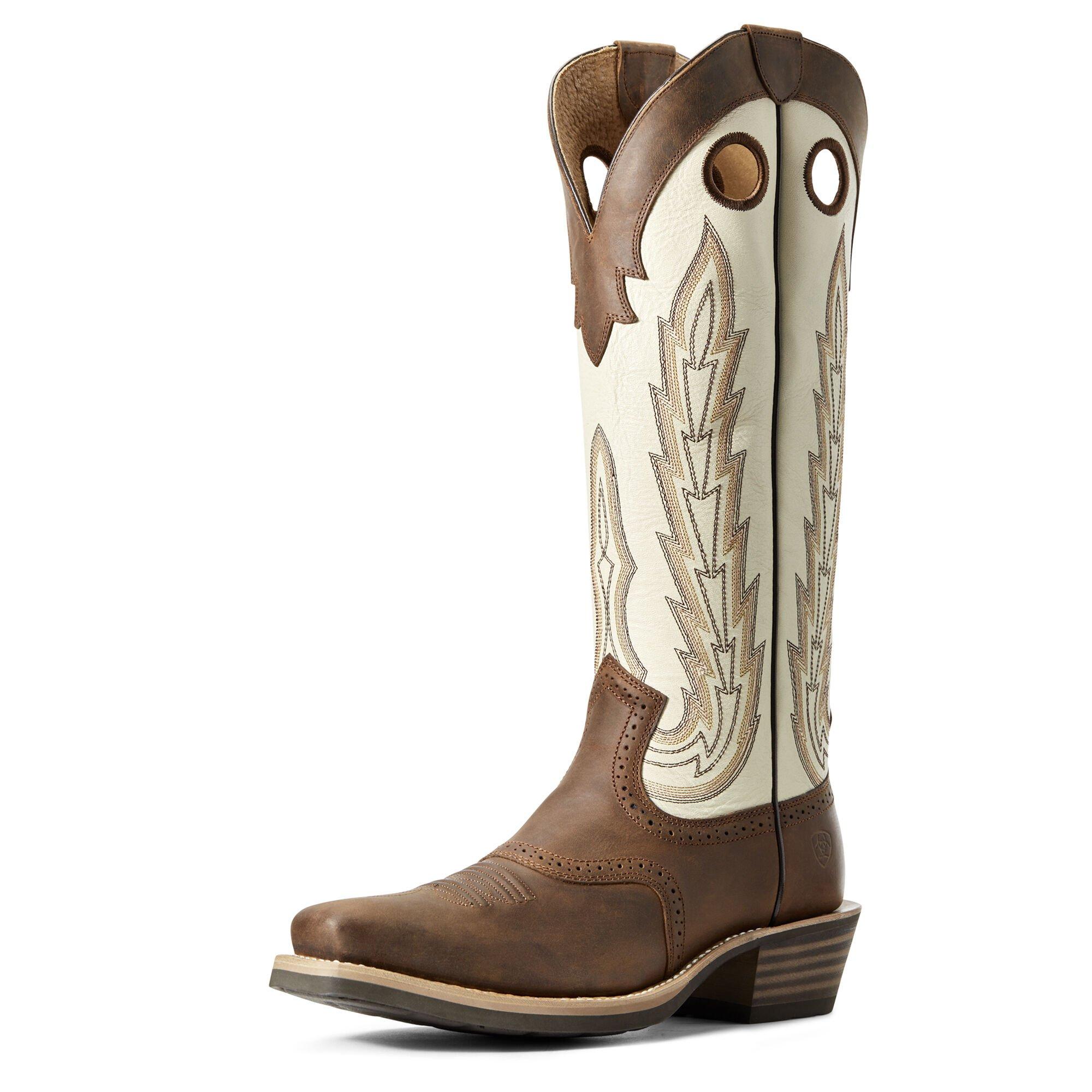 Heritage Buckaroo Western Boot