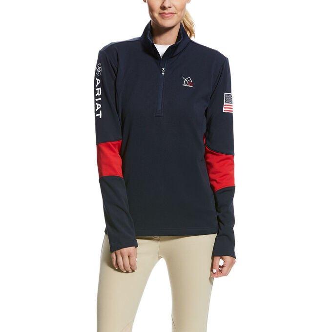 USEF Conquest 1/2 Zip Sweatshirt