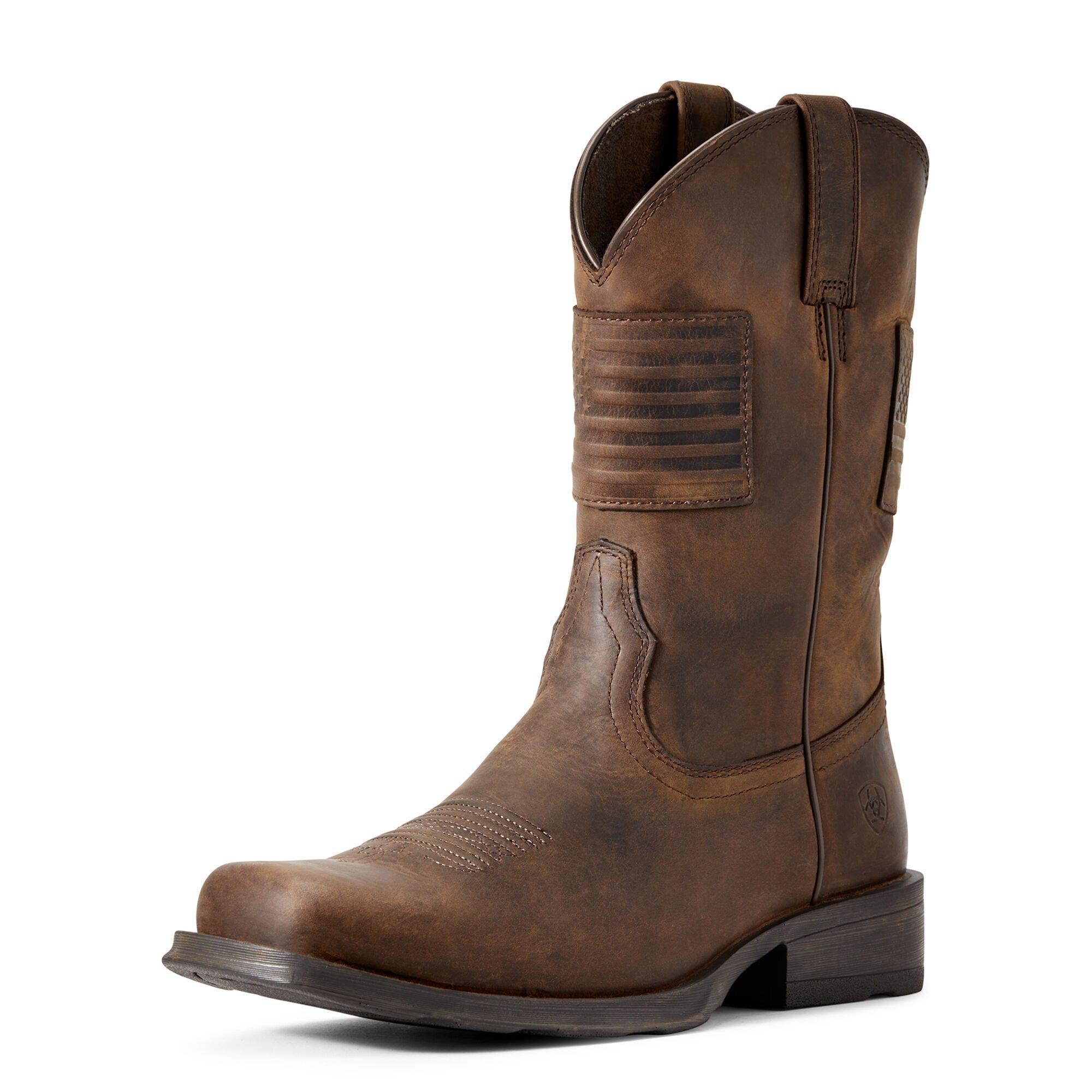 Rambler Patriot Western Boot