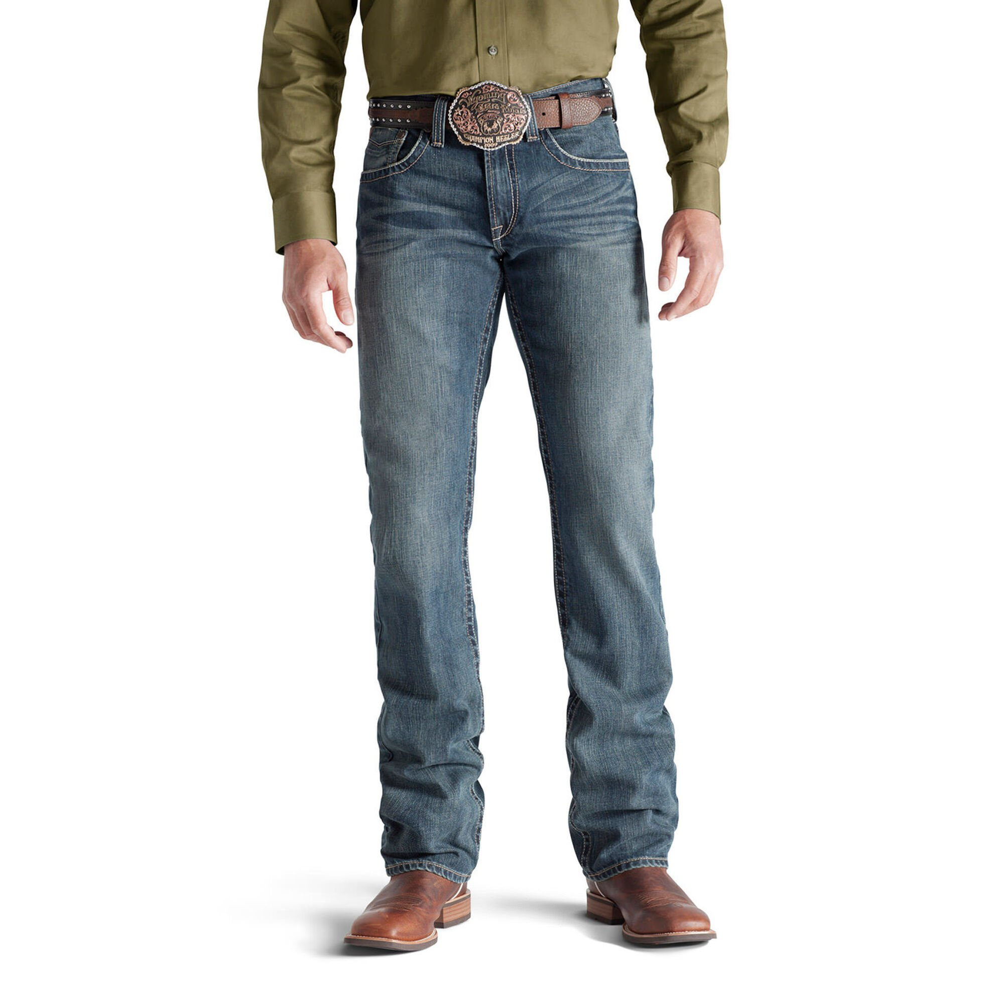 M5 Slim Deadrun Stackable Straight Leg Jean