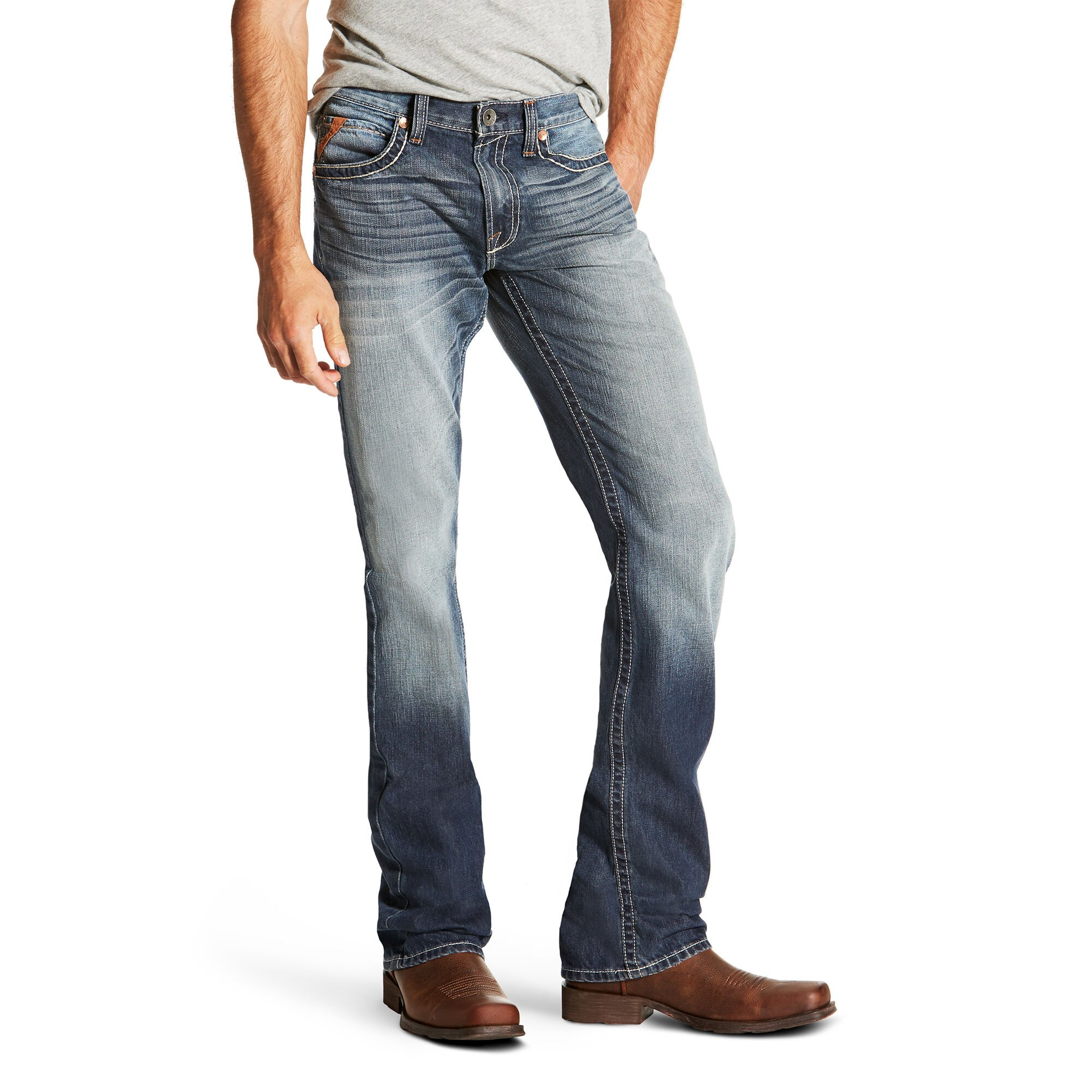 M5 Slim Davis Stackable Straight Leg Jean