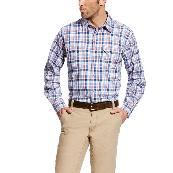 FR Karnes Snap Work Shirt