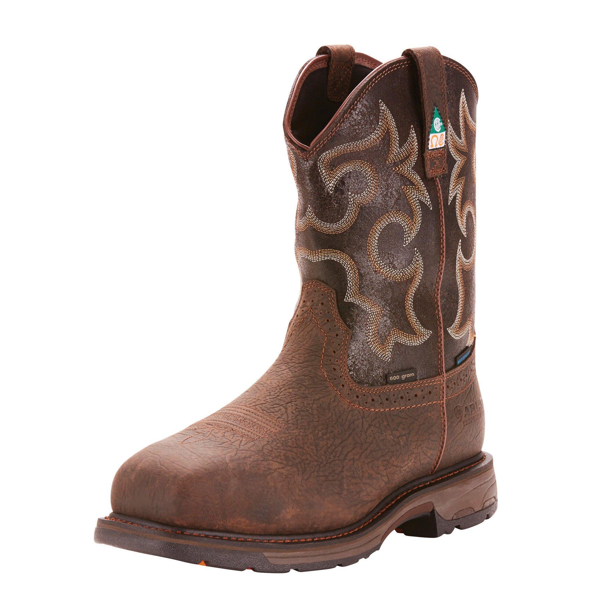 WorkHog CSA Waterproof 600g Composite Toe Work Boot