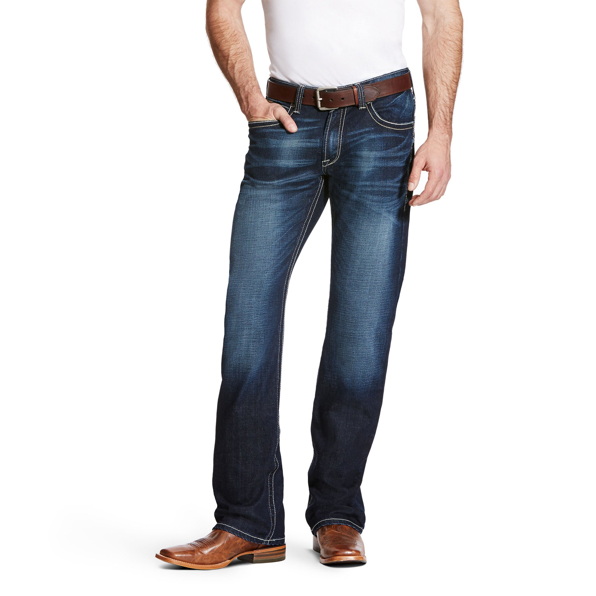 M4 Low Rise Stretch Adkins Boot Cut Jean