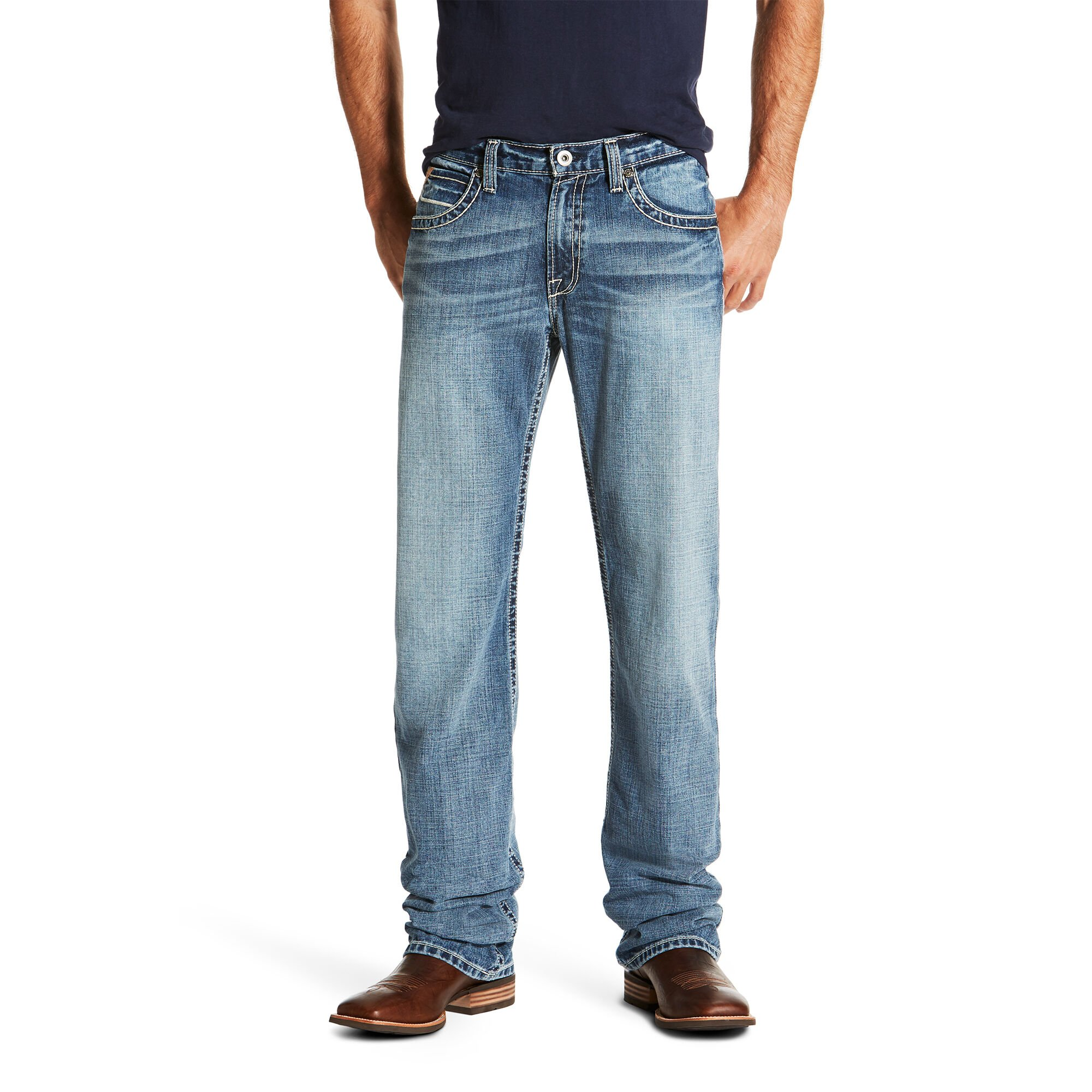 M4 Low Rise Quarterline Boot Cut Jean
