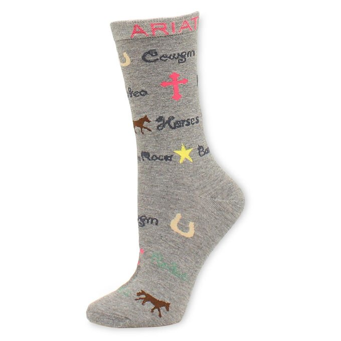 Cowgirl Charms Sock