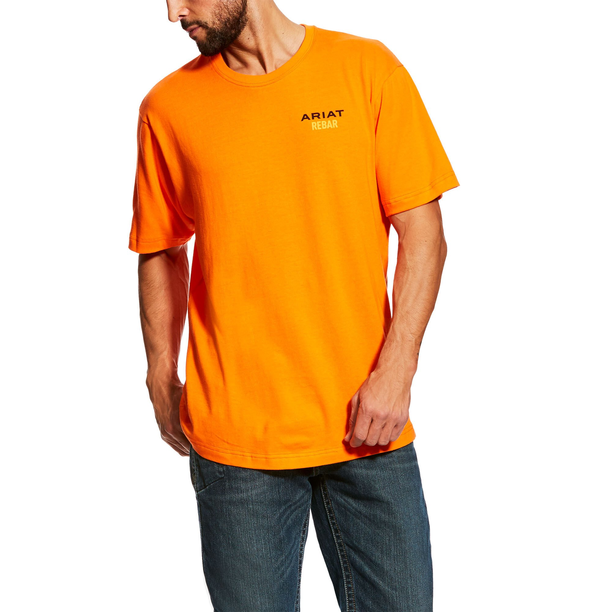 Rebar Cotton Strong Logo T-Shirt