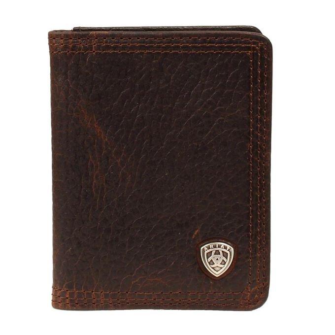 Triple Stitch Bifold Wallet