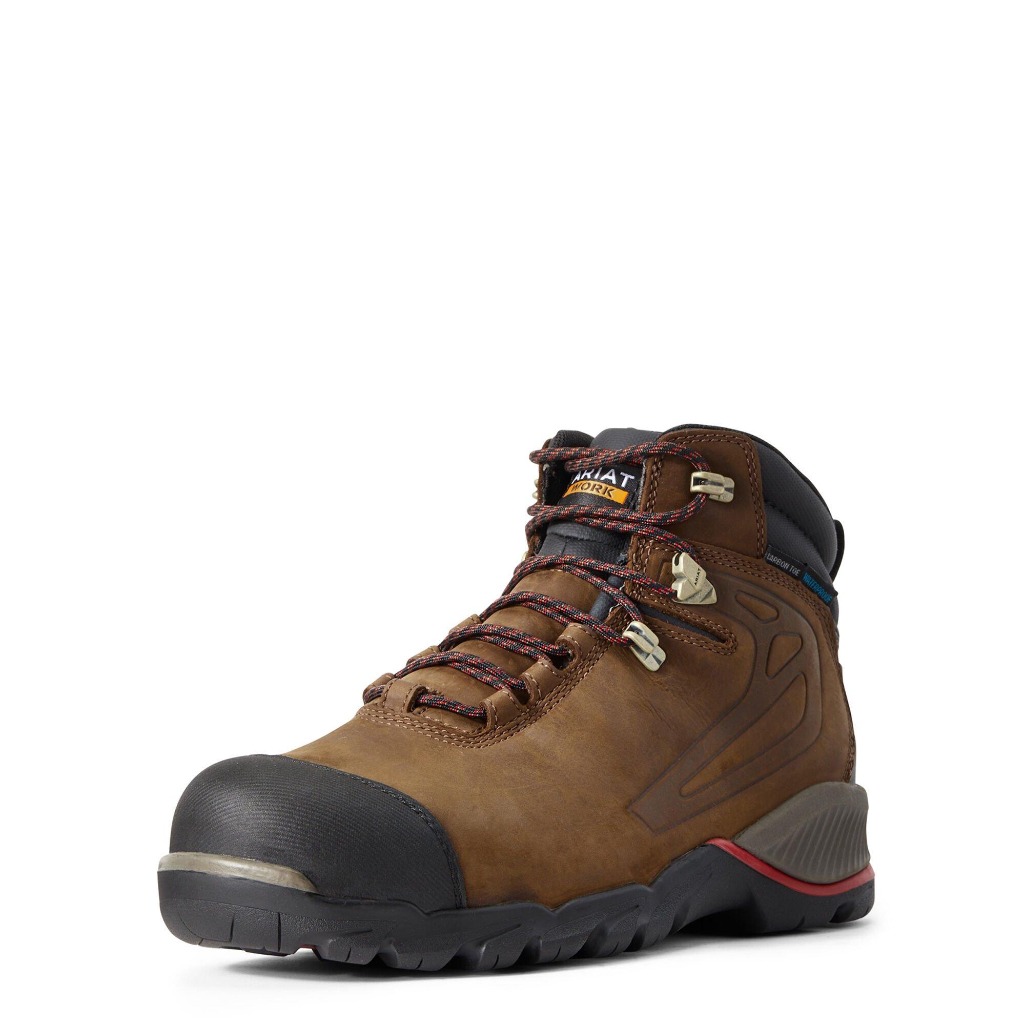 """Rebar Off-Road 6"""" Waterproof Carbon Toe Work Boot"""