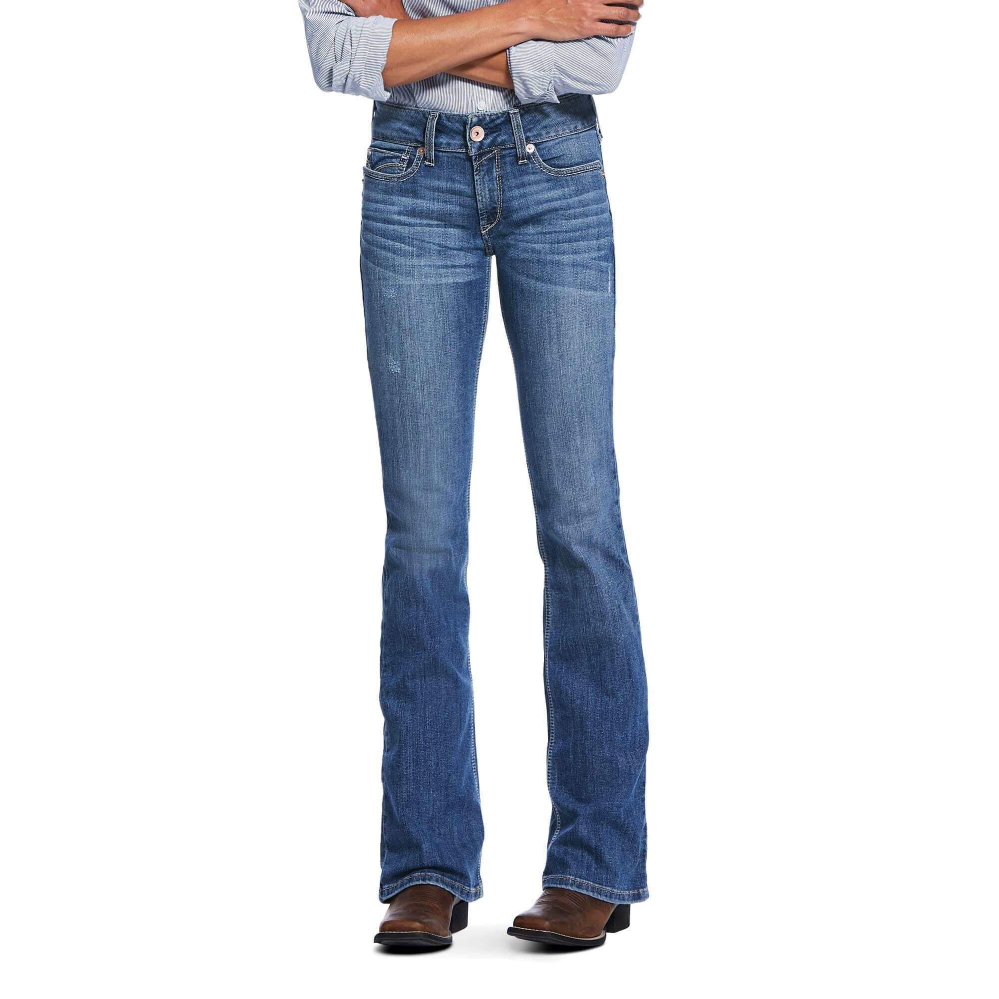 R.E.A.L. Perfect Rise Stretch Sparrow Boot Cut Jean