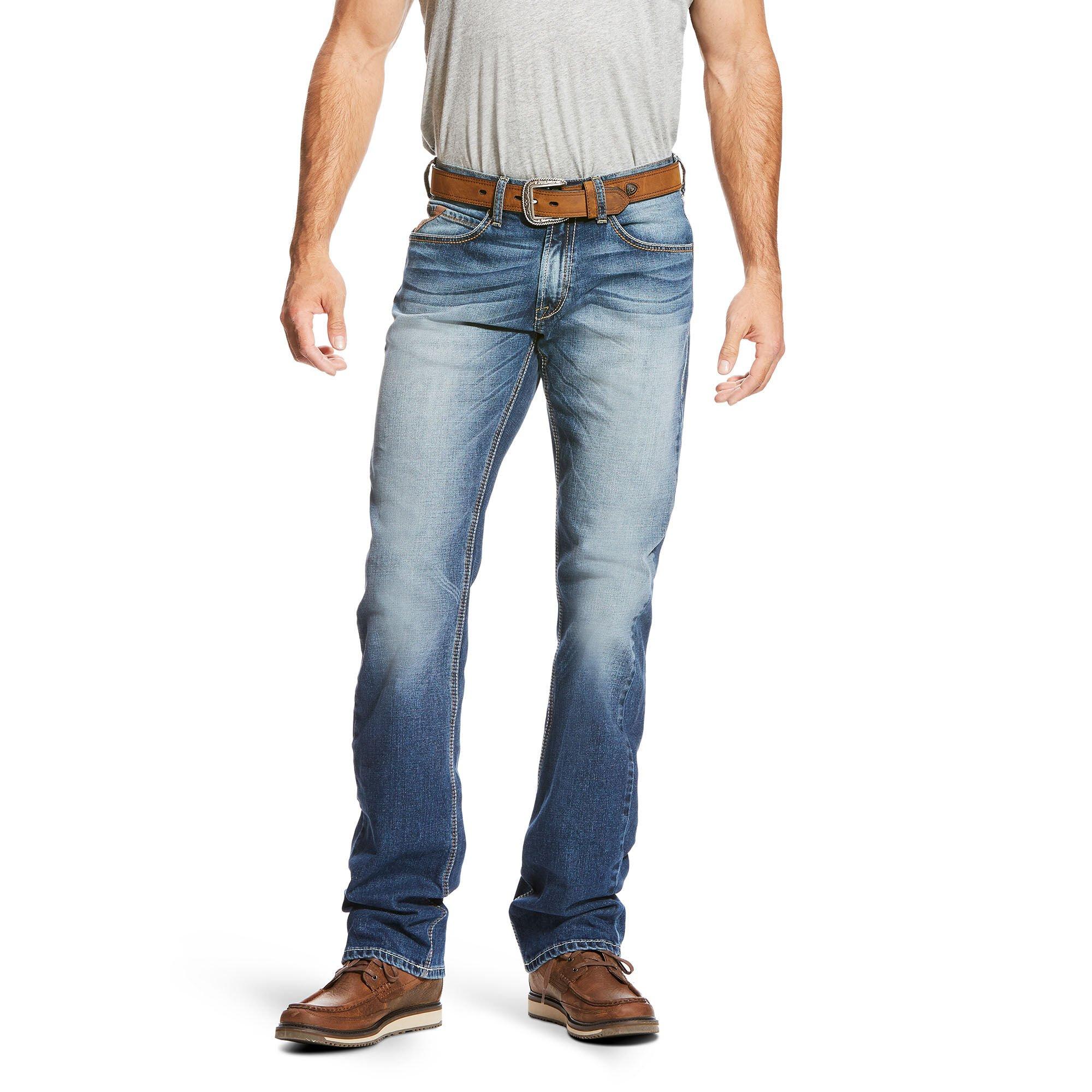 M5 Slim Triple Edge Stretch Stackable Straight Leg Jean