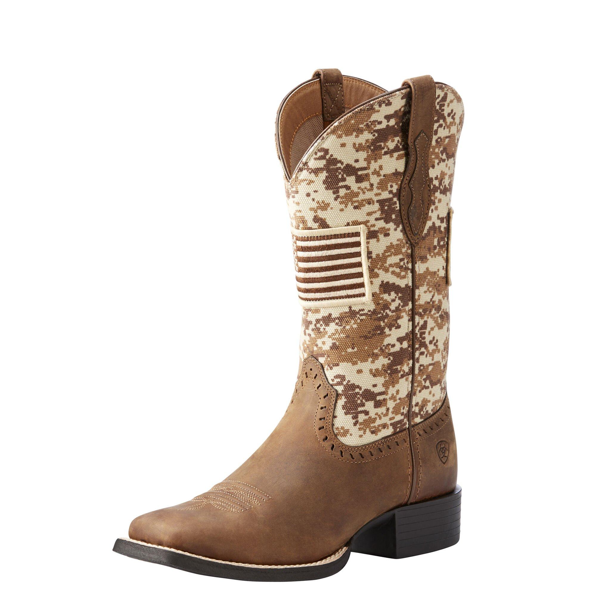 Round Up Patriot Western Boot