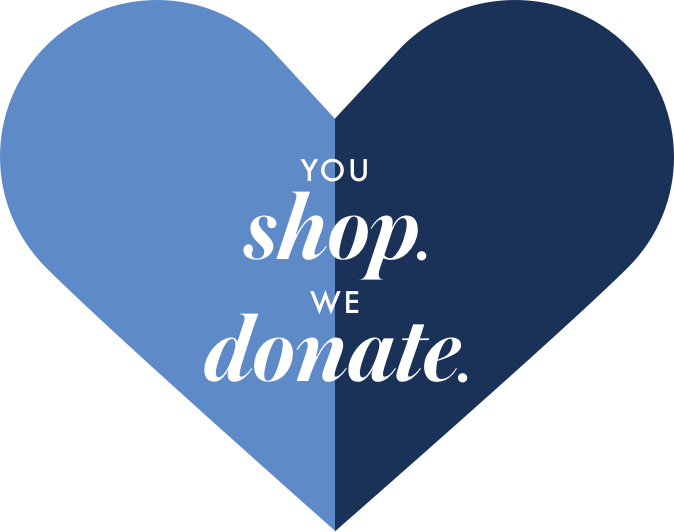 You shop we donate