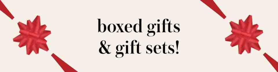 boxed gifts & gift sets