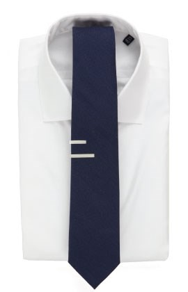 3 inch tie with tie bar