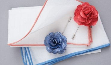 Tie Bar - Wedding Lapel Flowers and Pins