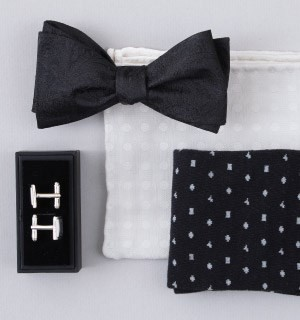 Tie Bar - Wedding Pocket Squares
