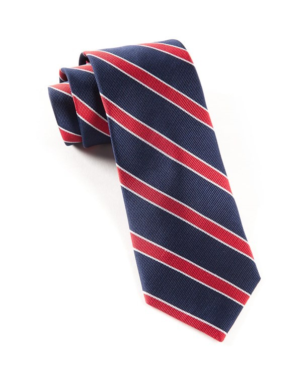 Honor Stripe Classic Navy Tie