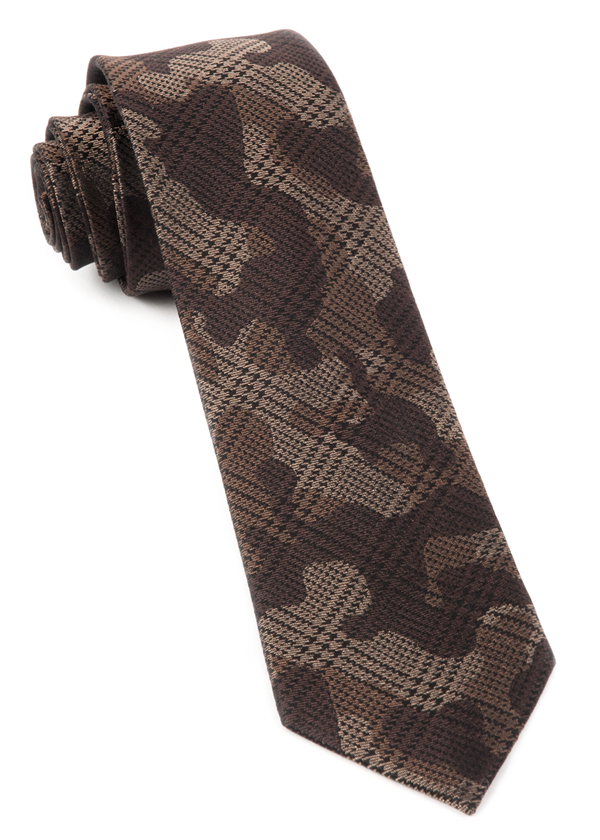 Caliber Camo Brown Tie