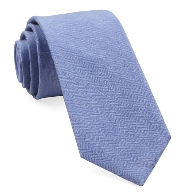 Linen Row Light Blue Tie