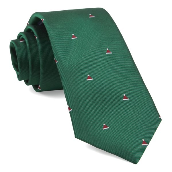 Santa Baby Kelly Green Tie
