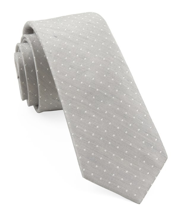 Bhldn Destination Dots Grey Tie