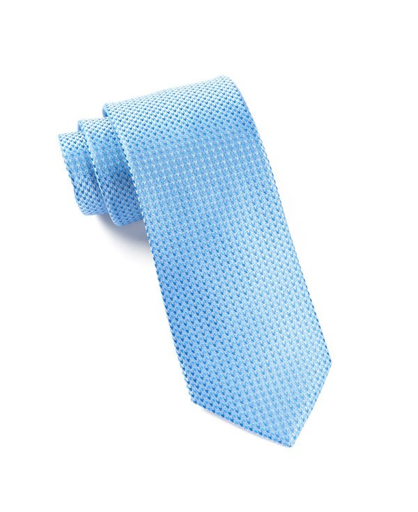 Chiclet Light Blues Tie