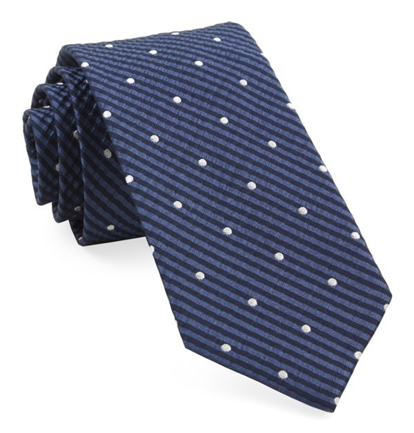 French Kiss Navy Tie