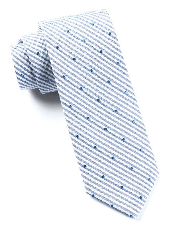 French Kiss Blue Tie