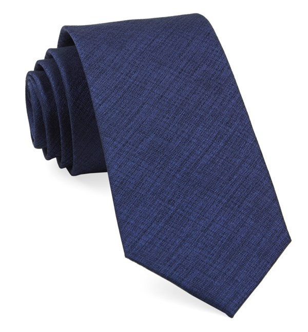 Debonair Solid Royal Blue Tie