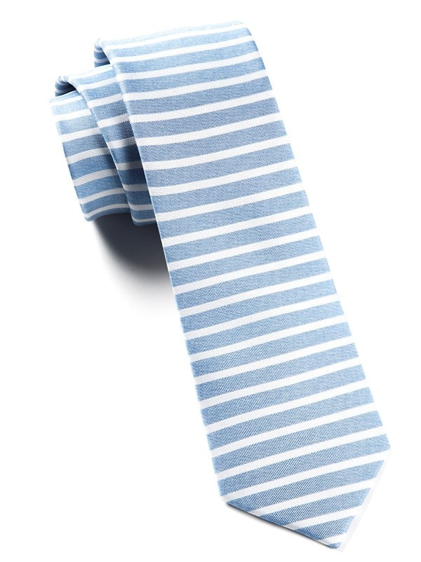 Unity Stripe Light Blue Tie