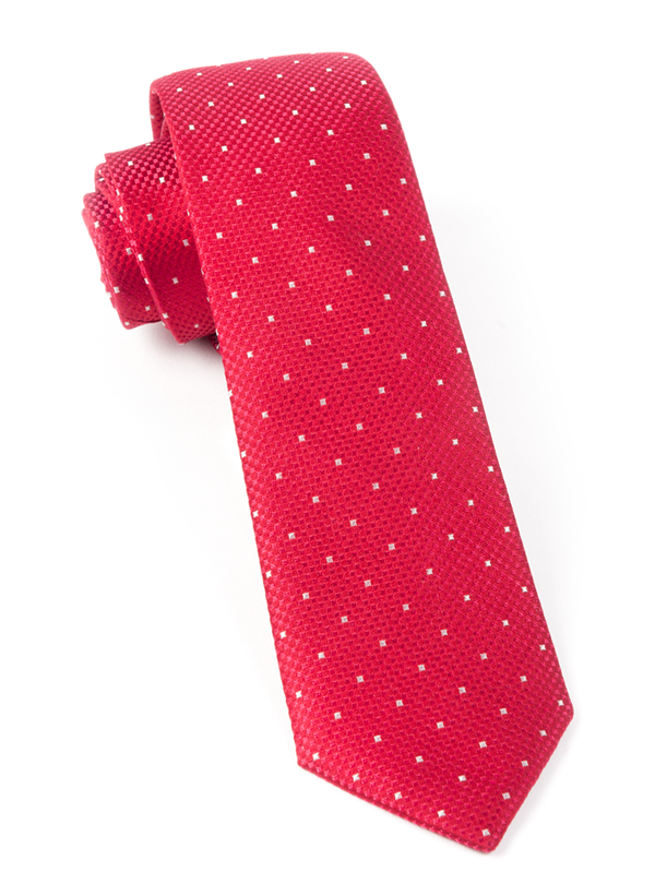 Showtime Geo Red Tie