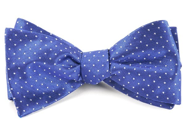 Mini Dots Periwinkle Bow Tie