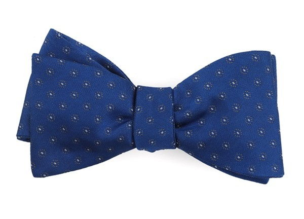 Sparkler Medallions Royal Blue Bow Tie