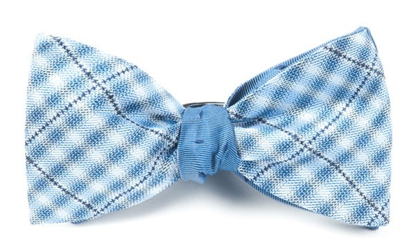 Parker Industry Blue Bow Tie