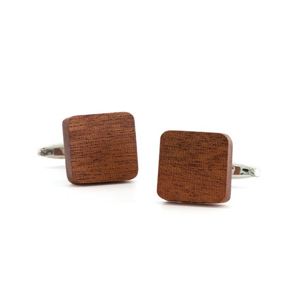 Woodgrain Brown Cufflinks
