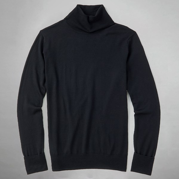 Perfect Merino Wool Black Sweater