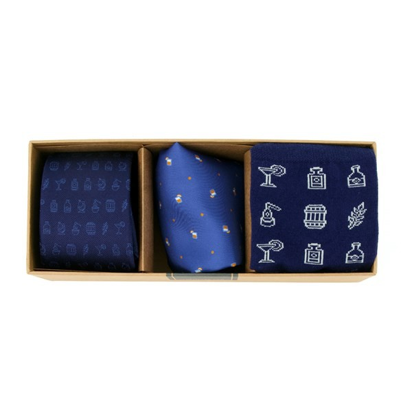 Spirit Hub X Tie Bar Top Shelf Gift Set