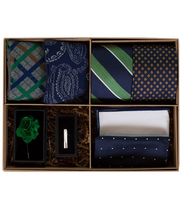 The Green And Navy Style Box Gift Set