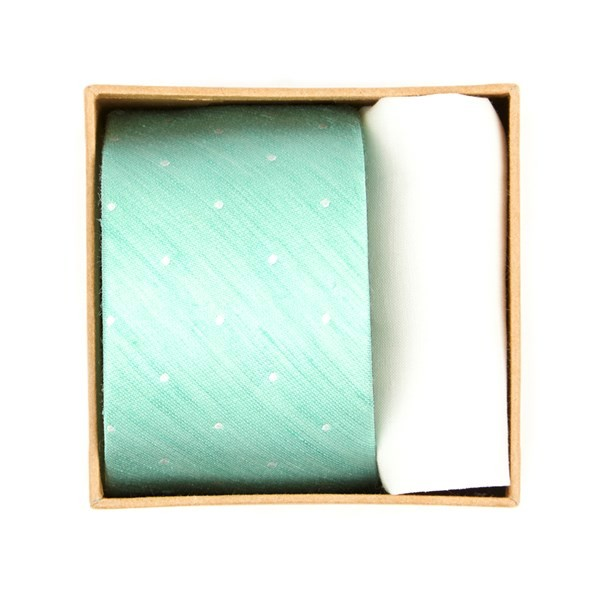 Bulletin Dot Tie Box Spearmint Gift Set