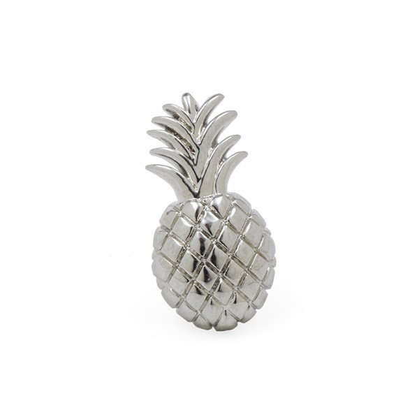 Pineapple Silver Lapel Pin