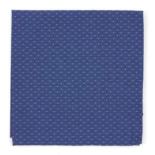 District Dots Navy Pocket Square