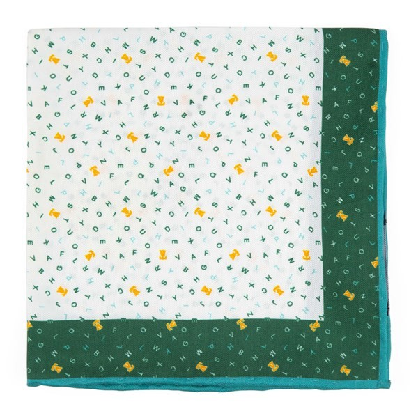 The City Square - Philadelphia Hunter Green Pocket Square