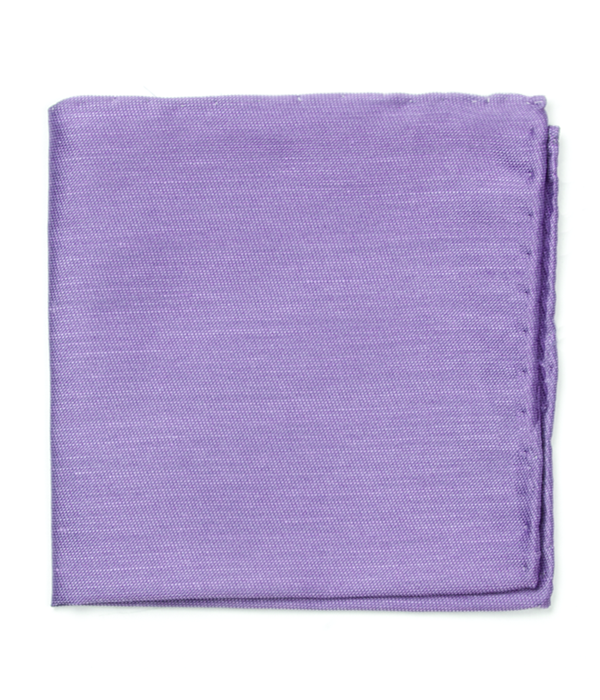 Sand Wash Solid Lavender Pocket Square