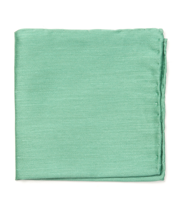 Sand Wash Solid Kelly Green Pocket Square