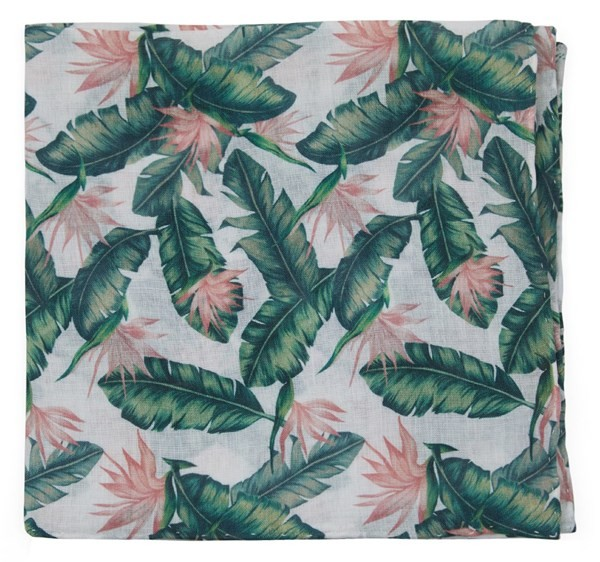 Mumu Weddings - Paradise Found Green Pocket Square