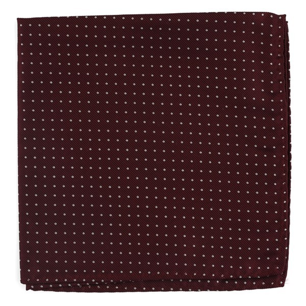 Mini Dots Wine Pocket Square