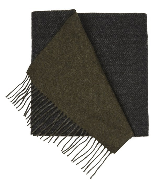 River West Solid Olive Scarf