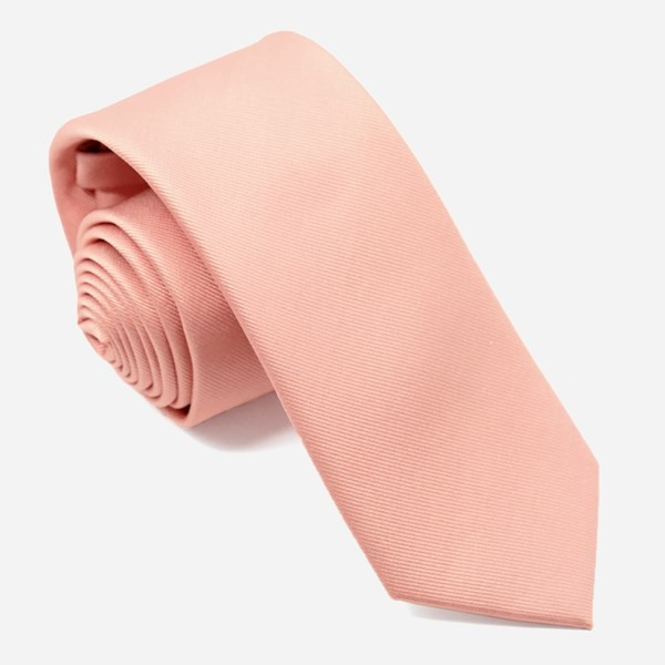 Grosgrain Solid Dusty Blush Tie