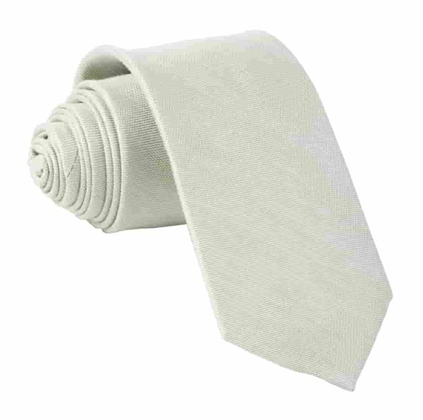 Sand Wash Solid Sage Green Tie